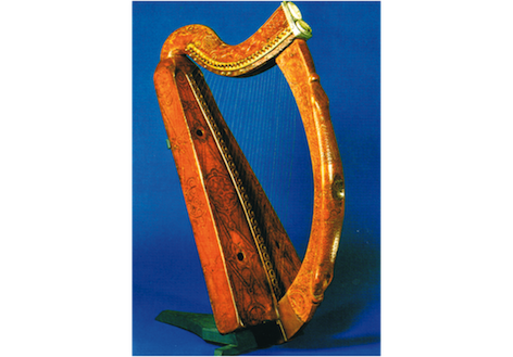The Three Noble Strains of Irish Harp Music