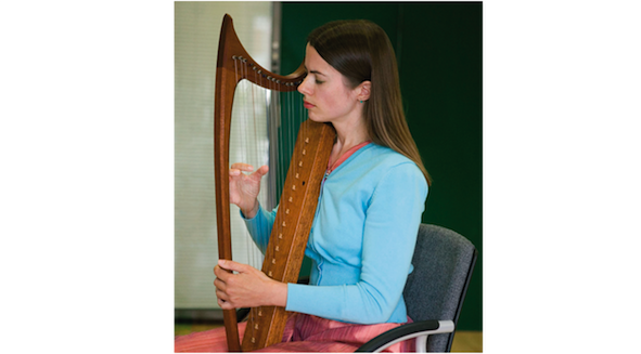 Learning to Play the Harp Intuitively