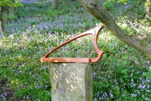 Harp Music in Bluebell Wood